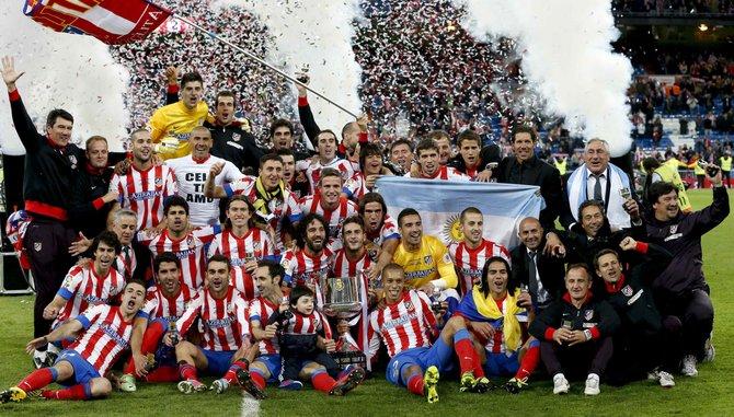 Atlético de Madrid campeón de la Copa del Rey