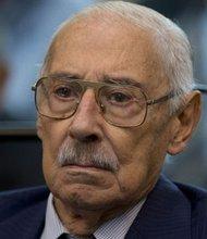 El ex presidente de facto de Argentina Jorge Rafael Videla.