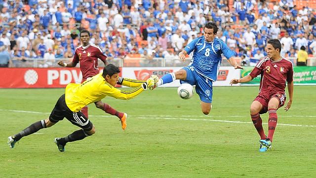 El Salvador y Venezuela se enfrentaron por última vez en el Estadio RFK de Washington, DC.