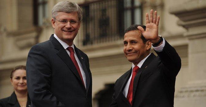 Perú: Humala realiza gira en Canadá