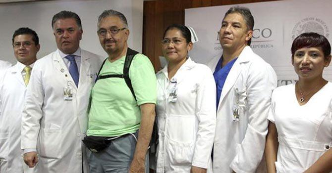Implantan en México primer corazón artificial permanente