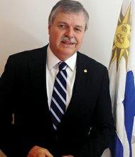 DIPLOMÁTICO. El embajador de Uruguay en Washington, Carlos Pita, el martes 14 de mayo.