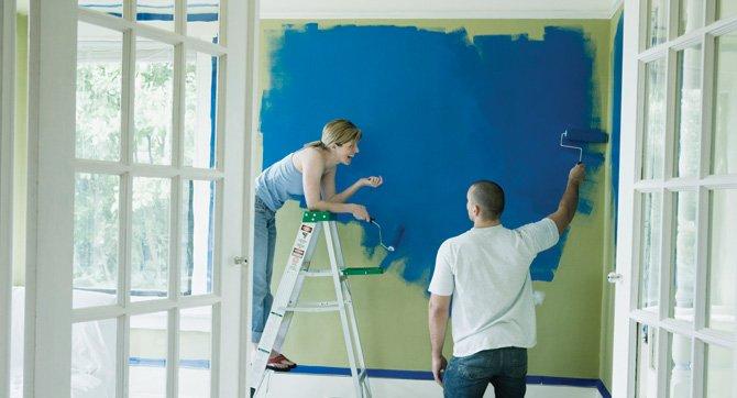 Pinte su casa periodico el latino noticias para for Como pintar casa interior