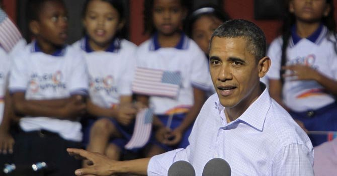 Obama quiere a las escuelas en la era digital
