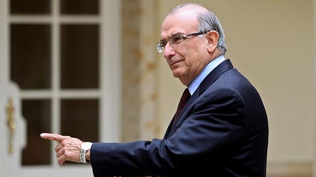 El jefe del equipo negociador del Gobierno colombiano, el ex vicepresidente Humberto de la Calle.