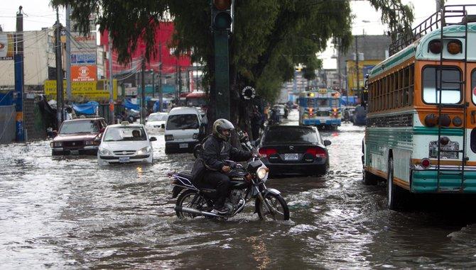 Las lluvias dejan saldo trágico en Guatemala