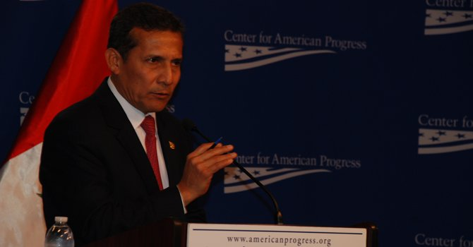 Humala plantea a Obama mejorar lucha contra las drogas