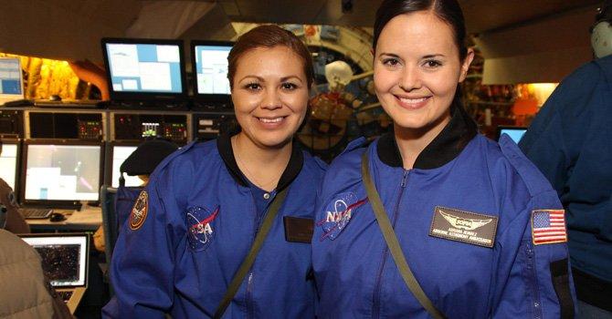 Dos maestras hispanas llevan el aprendizaje a la estratosfera