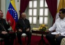 """Representantes de la Iglesia católica en Venezuela dijeron que confían que la entrevista que el presidente venezolano, Nicolás Maduro, tendrá con el papa sera de """"gran provecho"""" para la reconciliación y paz en el país."""