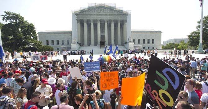 La comunidad gay celebra en DC