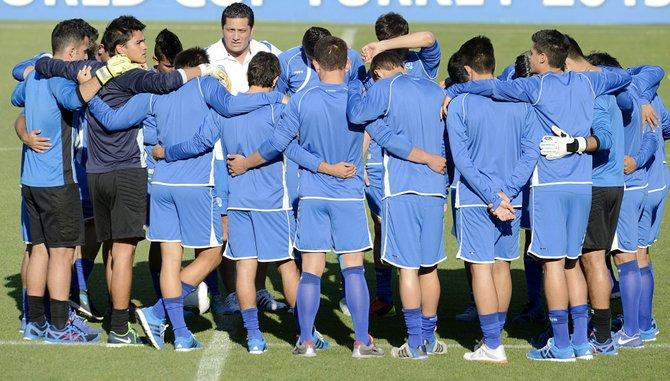 El Salvador se mide a Colombia en el Sub-20