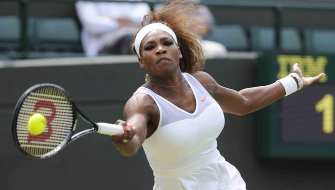Serena Wlliams sigue invicta en Wimbledon