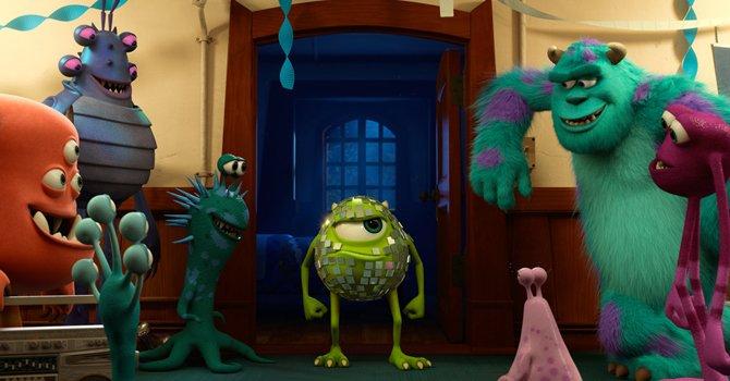 """""""Monsters University"""" gana el primer puesto"""