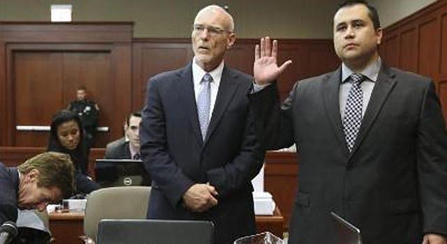 Jurado del caso Zimmerman escuchando los argumentos de cierre de la Fiscalía.