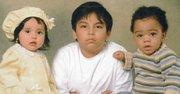 FAMILIA. De izq a der., Hillary, Emerson y Antonio,  en una foto de 2007.