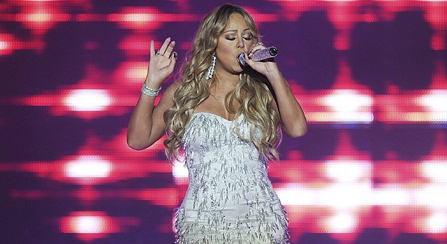 La cantante estadounidense Mariah Carey.