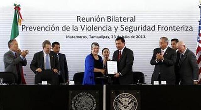 EE.UU. y México compartirán información de seguridad para reforzar frontera.