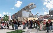 Diseño del futuro estadio.