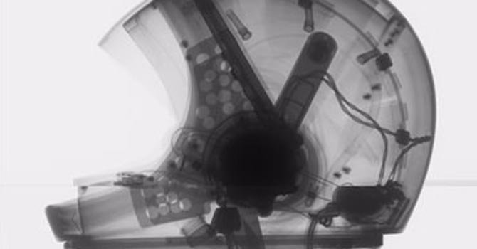 Exhibición  de arte espacial en Smithsonian