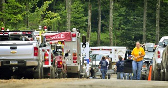 Helicóptero se estrella en Pensilvania