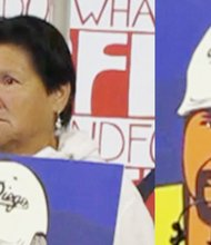 María Luz Rojas, madre de Anastasio Hernández.