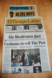 PERIÓDICOS. El Post, El Tiempo Latino y Express.