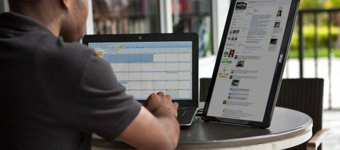 Agrega un segundo monitor a tu laptop vía USB