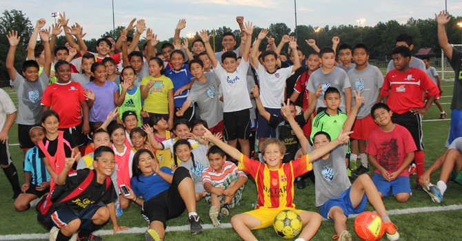 Nueva academia de fútbol en Langley Park