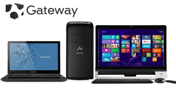 Gateway renueva si línea de desktops y notebooks para el regreso a clases