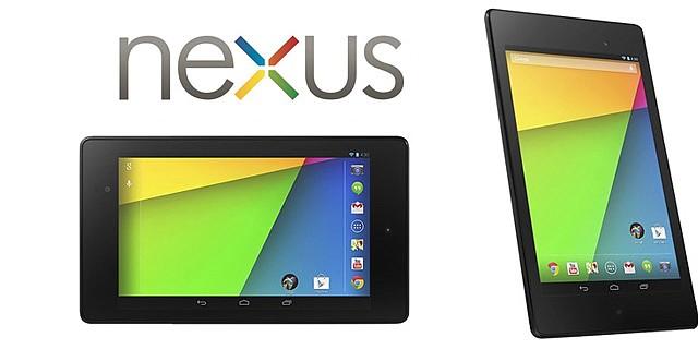 Google mejora su tableta Nexus 7