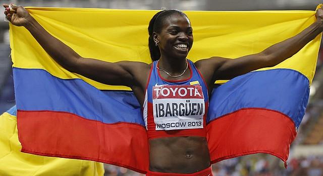 La colombiana Caterine Ibargüen se consagró en los Juegos Olímpicos de Río de Janeiro en 2016.