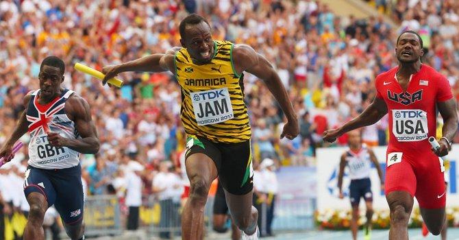 Usain Bolt es el amo absoluto de la velocidad