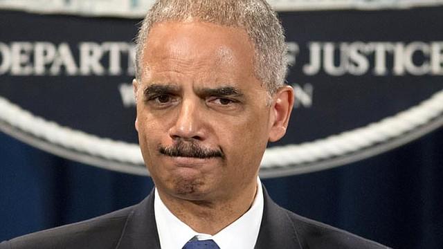 Secretario de Justicia, Eric Holder.