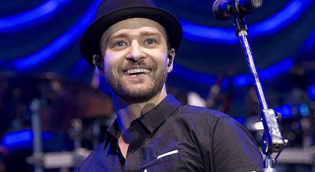 El cantante pop Justin Timberlake en los MTV Awards.