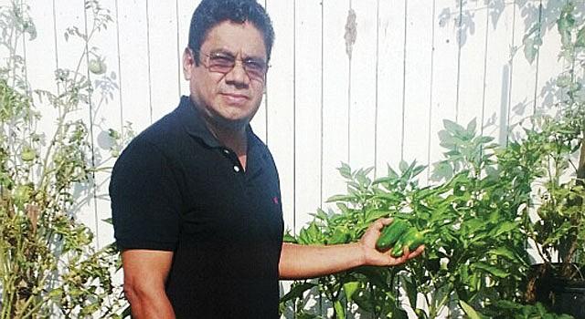 VA. Roberto López, abrió Ladybug Landscape, LLC. Muestra una huerta.