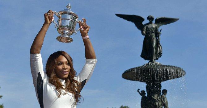 Serena sigue siendo la reina del Abierto USA