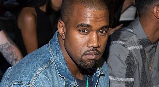 El rapero Kanye West.