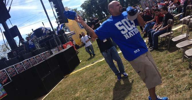 Mr Pelon oreció rap con mensaje salvadoreño