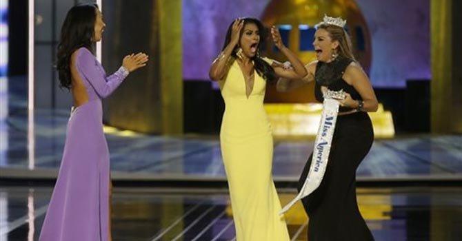 Primera Miss America de raíces indias