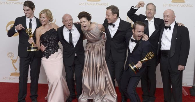 """Breaking Bad"" triunfa en los Emmy"