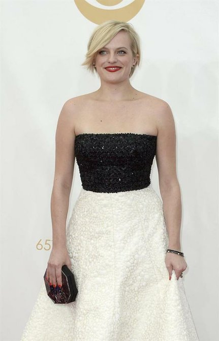 "Elizabeth Moss, de ""Mad Men""."