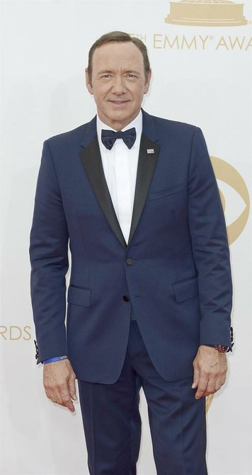 "Kevin Spacey, protagonista de 'House of Cards""."