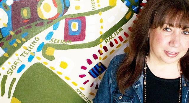 "ARTISTA. Soraida lleva su ""Verdadism"" a George Mason University."