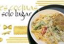 Penne Rosa: Servido en una salsa de tomate cremosa con espinacas, vino y queso parmesano o feta. Se sugiere acompañarlo con la pechuga de pollo y queso parmesano empanizada.