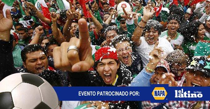 """""""Embrújate con la selección Mexicana""""."""
