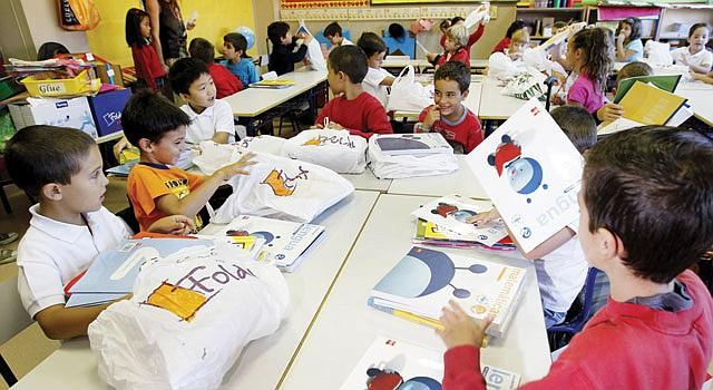 AULAS. Las escuelas privadas suelen ofrecer más programas.