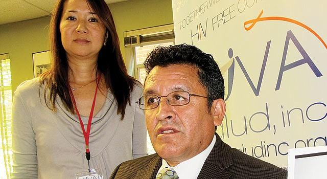 VIRGINIA. Ellin Kao y Hugo Delgado, confundadores de NOVA Salud, hablan el martes 15 sobre los servicios del centro que abrió en Arlington en 2010.