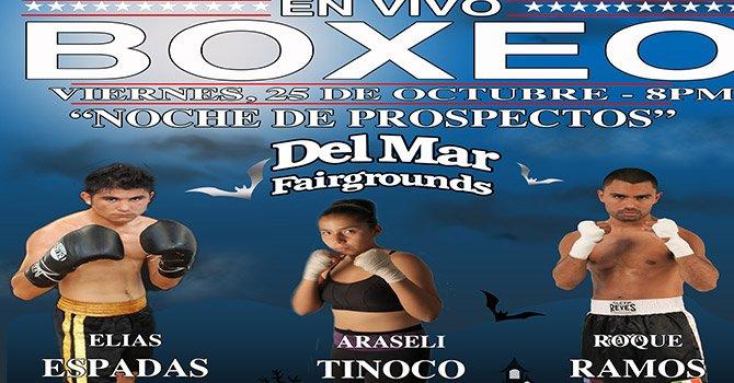 Gana boletos par asistir a la función de Box este viernes 25 de octubre en Del Mar