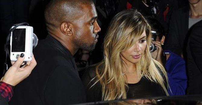 Kim Kardashian y Kanye West camino al altar