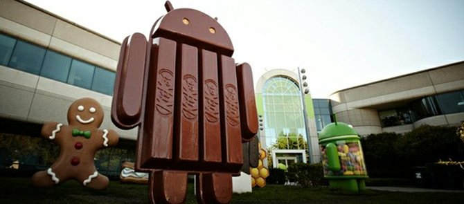 "Google presenta Android 4.4 ""KitKat"""